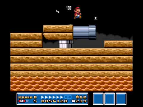 Super Mario All-Stars  Super Mario World - Vizzed.com Play (Super Mario Bros. 3) - User video