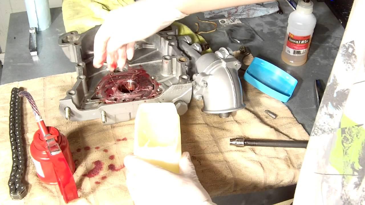 Oil Pump Gear Timing Chain Cover Rebuild 2003 Land