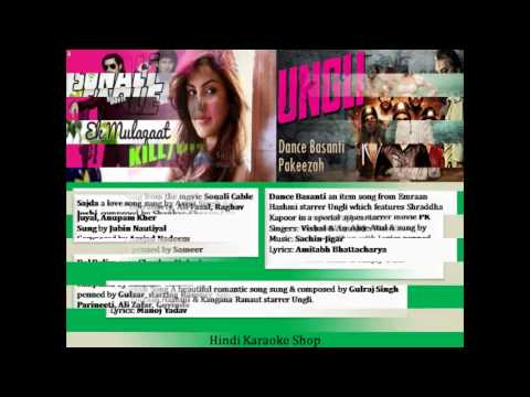 Latest Hindi Karaoke Songs Added In The Month Of November video