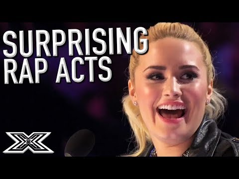 UNEXPECTED Rap Auditions! | X Factor Global