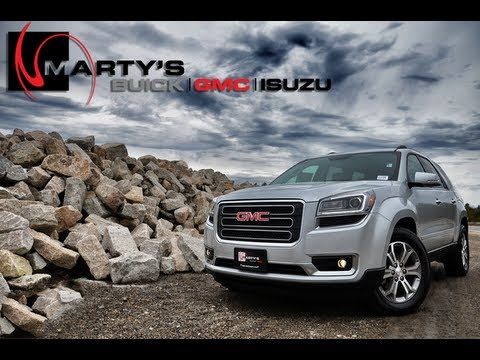 2013 GMC Acadia Full Walkaround - Start up, Feature Highlights, Vehicle Tour