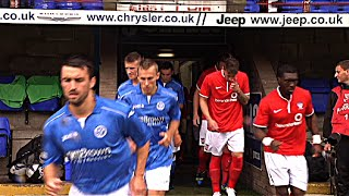 St. Johnstone v York City highlights - 19.7.14