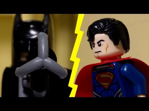 Lego Batman vs Lego Superman