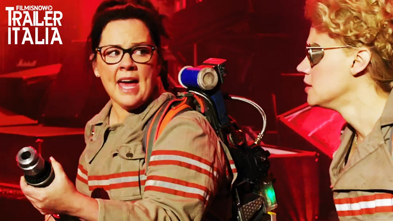 Ghostbusters - Trailer Italiano [Chris Hemsworth. Melissa McCarthy] HD