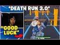 CIZZORZ *REVEALS* NEW DEATH RUN 3.0 *INSANE* ($10,000 Challenge)
