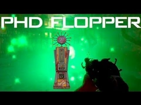 Black Ops 2 Zombies Buried Achievements - BO2 PhD Flopper Perk RETURNS - Buried Easter Egg