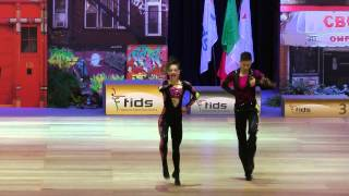 Lilou Fayard & Marvin Gay - Europameisterschaft 2015