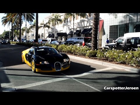 3 bugatti veyrons take over los angeles what a sight makeup guides. Black Bedroom Furniture Sets. Home Design Ideas
