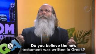 Video: Was the New Testament written in Greek? - Rood Awakening