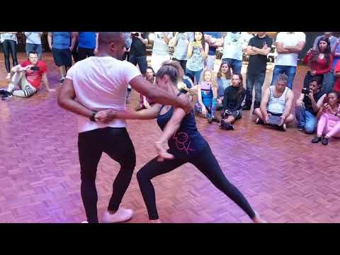 SSZF2018: Fernanda & Carlos in Sunday afternoon workshop demo ~ Zouk Soul