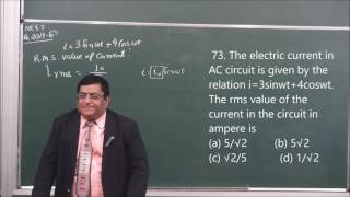 NEET-8-A.C.(2017)Pradeep Kshetrapal Physics channel