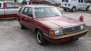 1986 plymouth reliant k video