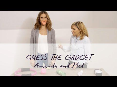 Amanda Byram and Melanie Blatt Attempt To Guess The Gadget