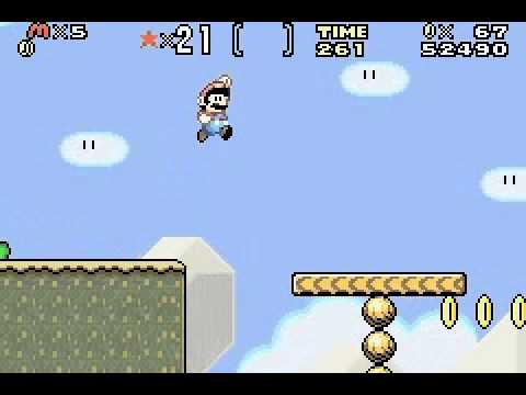 Super Mario Advance 2 - Super Mario World - Game Boy Advance - User video