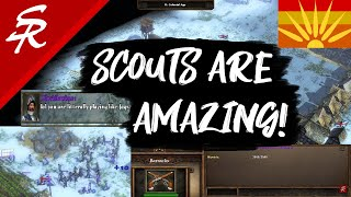 SCOUTS are CRAZY OP!!! | Strategy School | Age of Empires 3