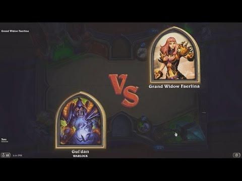 How to Beat Hearthstones Heroic Grand Widow Faerlina