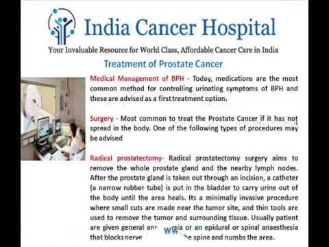 Prostate Cancer In India Has Saved The Lives Of Many People From Across The World