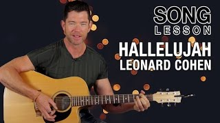 How To Play 39 Hallelujah 39 On Guitar Leonard Cohen Acoustic Guitar Lesson