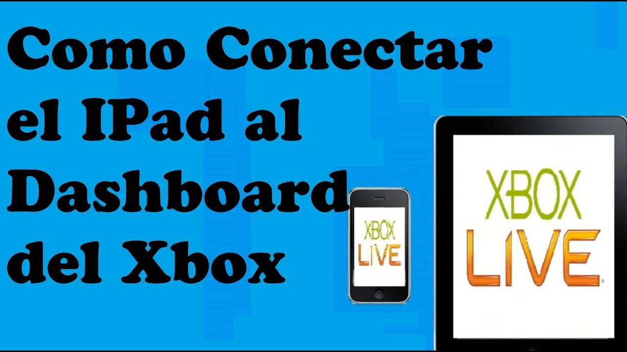 Como Conectar el IPad al Xbox 360 - YouTube