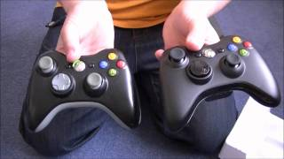 New Style XBOX Black Wireless Controller Un-Boxing.