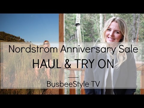 Nordstrom Anniversary Sale HAUL & TRY ON #1 | BusbeeStyle TV