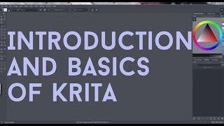 Introduction to Krita