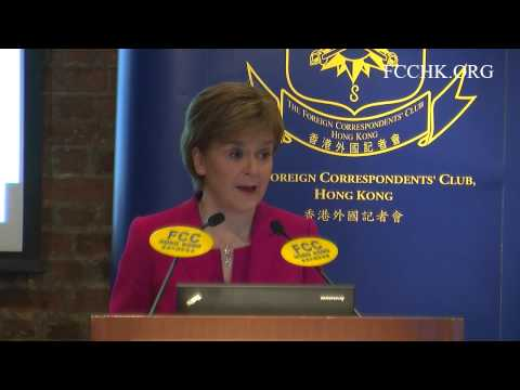 2015.7.31 - Nicola Sturgeon (Topic: A Sea Change in Scottish Politics)