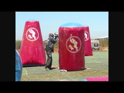 Paintball Joseph pulls a 1 v 3 Airball Clutch HD