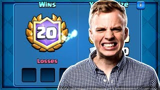 Clash Royale - GIANT MINER! 20 Win Deck