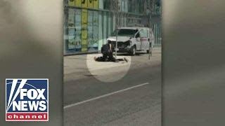 10 killed in Toronto van attack, suspect captured