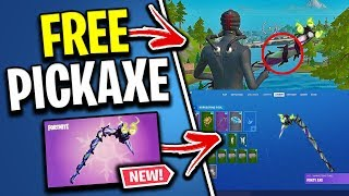 "How To UNLOCK The ""Minty Pickaxe"" For FREE! (Exclusive Fortnite Pickaxe)"