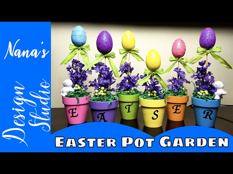 100 diy easter gifts dollar tree easter gift ideas youtube100 easter video diy dollar tree topiary negle Gallery