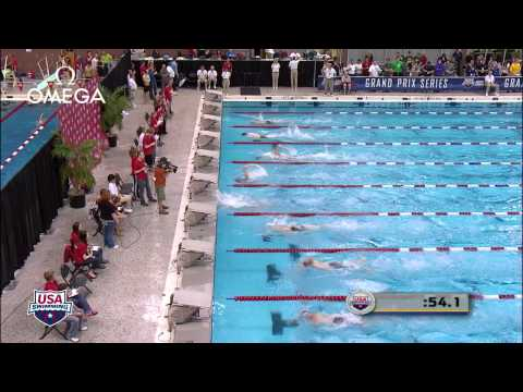 Men's 200m Freestyle B Final   2012 Columbus Grand Prix