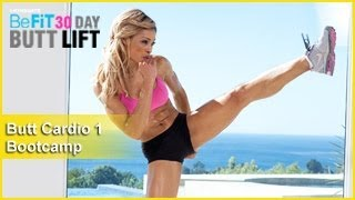 Butt Workout Cardio 1: Bootcamp | 30 DAY BUTT LIFT