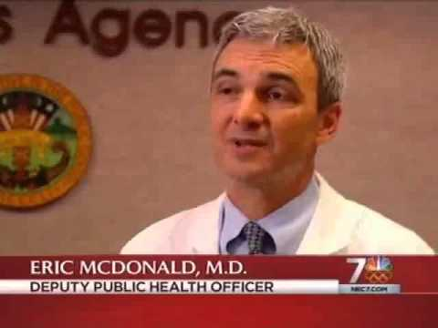 NBC-7 coverage of possible measles exposure