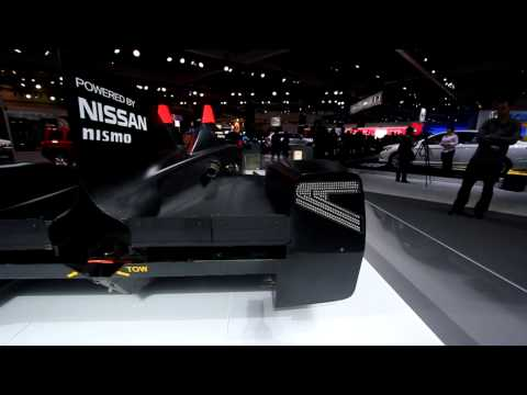 Nissan Deltawing – LA Auto Show 2012 (CarNinja)