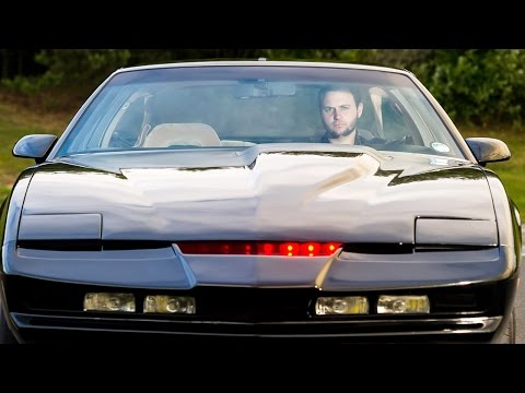 Real Life Knight Rider: Fan Spends £18,000 Recreating Iconic Car video