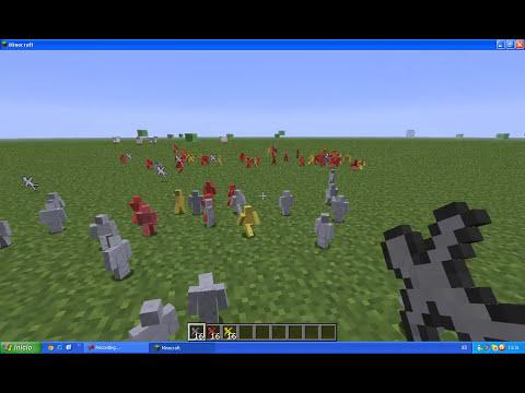 Minecraft 1.2.5 Mod Soldados de arcilla