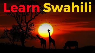 Learn Swahili While You Sleep 😀  Most Important Swahili Phrases and Words 😀 English/Swahili