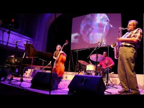 Paul Dunmall, Matthew Shipp, Joe Morris, Gerald Cleaver at Vision Festival 17