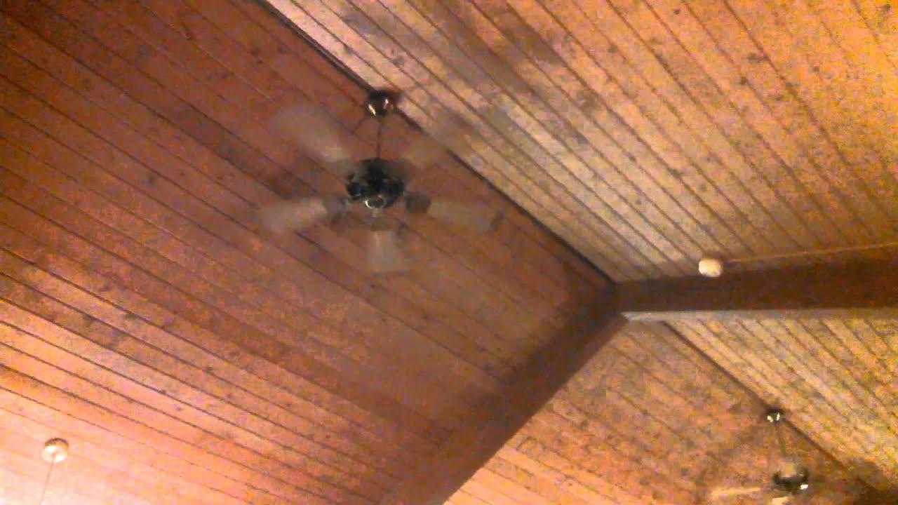 Smc F52 Ceiling Fans Cane Antique Brass Youtube