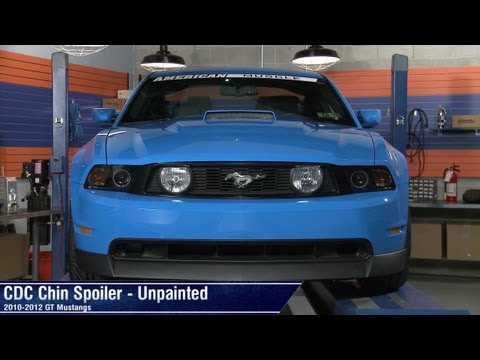 Mustang CDC Chin Spoiler - Unpainted (10-12 GT) Review