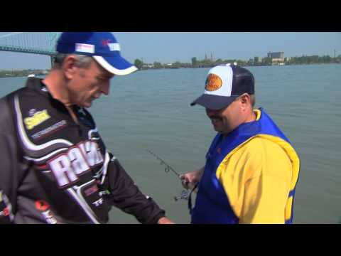 Fishing for Trophy White Bass, Detroit River, La Salle, ON -- Part 3 of 4
