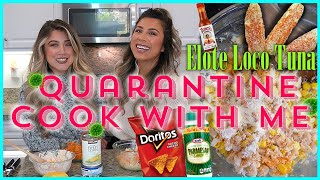 ELOTE LOCO TUNA | PANDEMIC COOKING WITH MY COSTCO CANNED FOOD HAUL