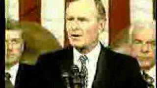 George Bush Sr New World Order