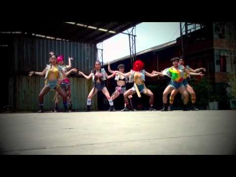 Dangsters Dance Crew (china): Bad Girl - M.i.a. video