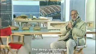Renzo Piano. Il Parco della Musica di Roma. 1° Part. English Subtitles. Video by Teresa de Vito