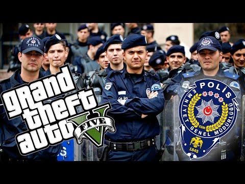 TÜRK POLİSİ MODU ! - GTA V MODLARI