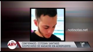 HABLA TIO DEL SOSPECHOSO DE TIROTEO EN AEROPUERTO DE FLORIDA