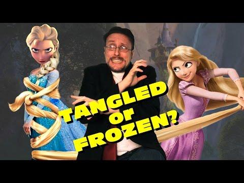 Tangled vs Frozen - Nostalgia Critic